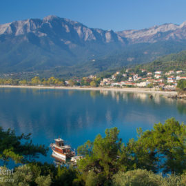 The island of Thassos, Greece